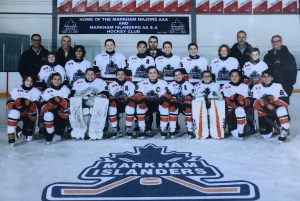 Proud sponsor of the Markham Islanders 2017/2018, 2018/2019
